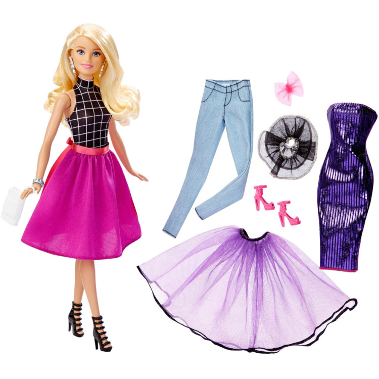 Barbie Barbie Fashion mix 'n match pop