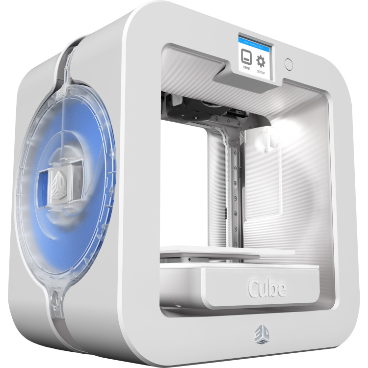 3D Systems Cube 3D Printer Gen3 WHITE (392200)