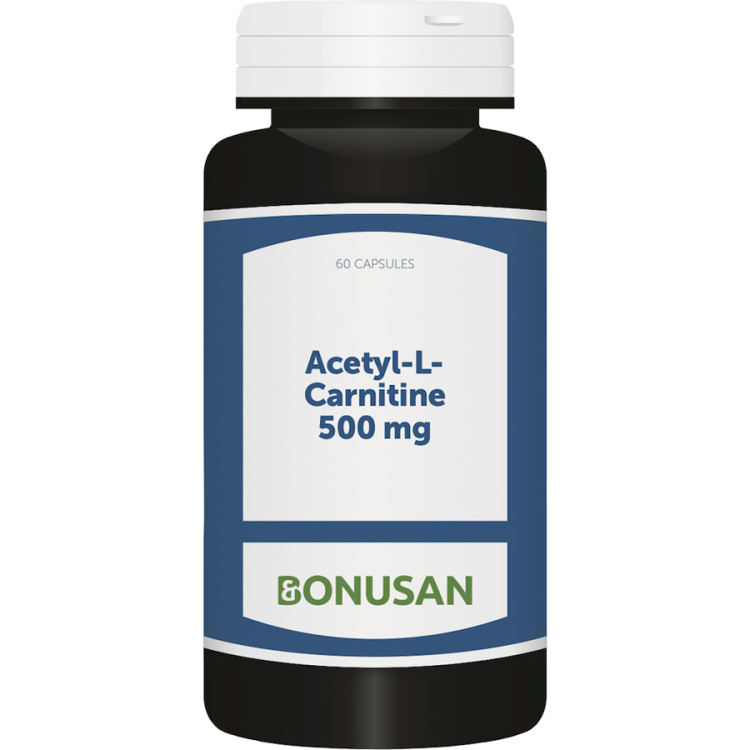 Image of Acetyl-L-Carnitine 500 Mg, 60 Vegetarische Capsules