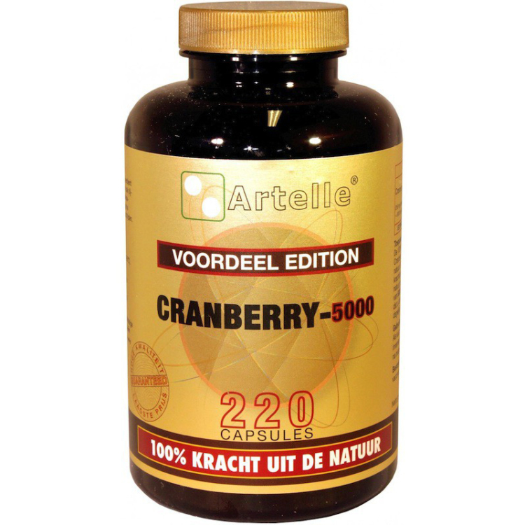 Image of Cranberry-5000, 220 Capsules