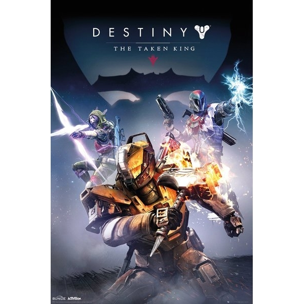 Image of Destiny: Taken King Poster