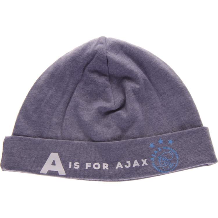 Image of Baby Jongens Muts Blauw: A Is For A