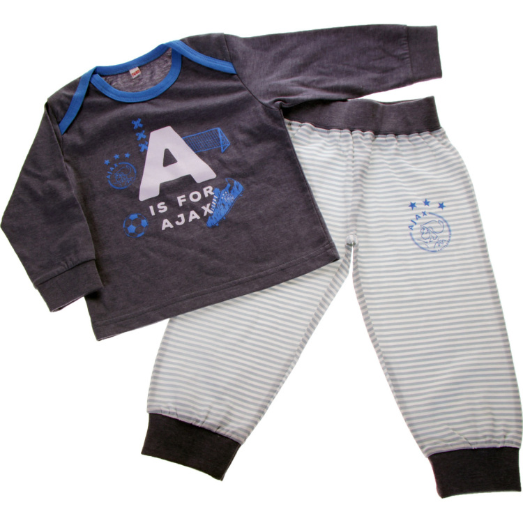 Image of Baby Jongens Pyjama Blauw: A Is For Ajax, Maat 86/92
