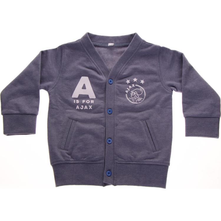 Image of Baby Jongens Vestje Blauw: A Is For