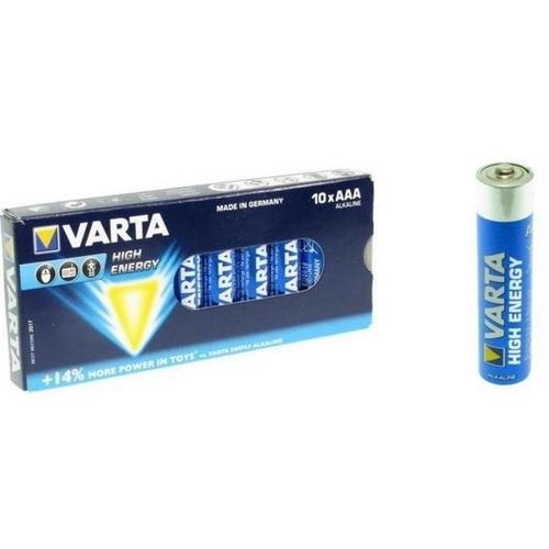 Batterij Varta Penlite Lr03 Aaa H.E Doos 10 stuks