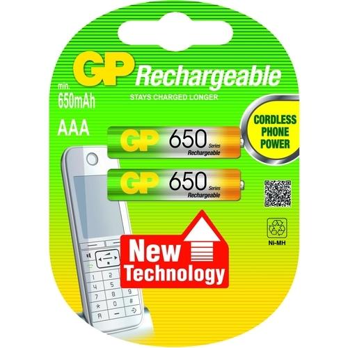 GP NIMH AAA 650MAH 2