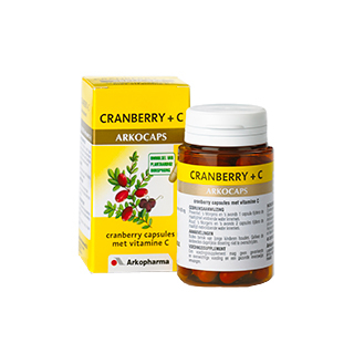 Image of Arkocaps Cranberry + C, 45 Capsules