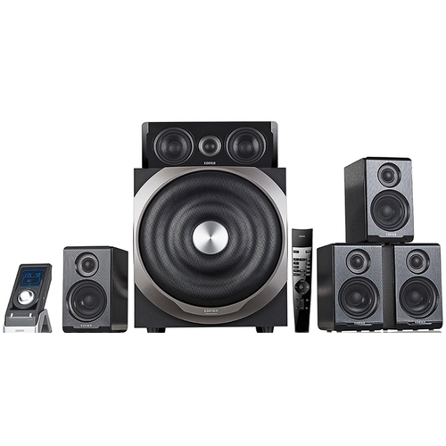 Edifier S760D - 5.1 Speakerset - Zwart