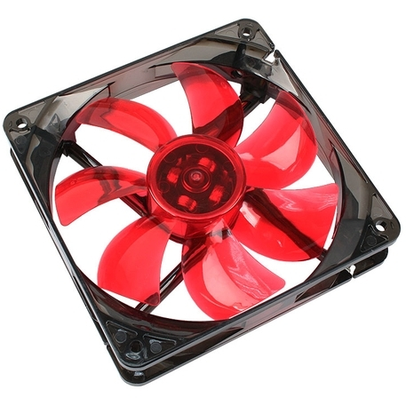 Image of Cooltek Silent Fan 120 Red LED