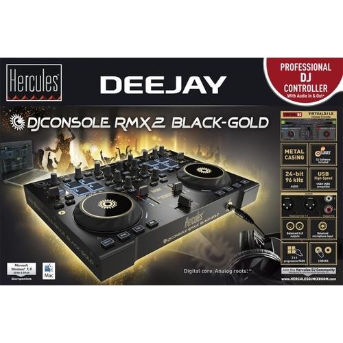 DJ Console RMX 2 Zwart/Goud