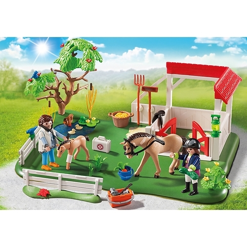 PLAYMOBIL superset eerste hulp in de stal 6147