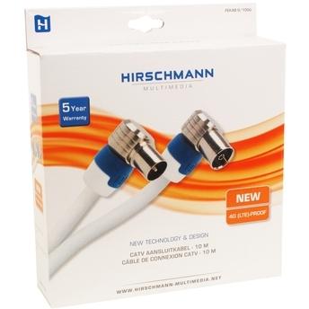 Hirschmann Coaxkabel Fekab 9 10 mtr. [NL kabel]