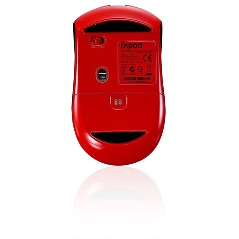 Rapoo 7200P - Draadloze Muis / Rood