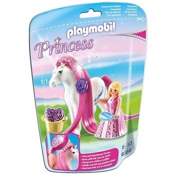 Playmobil Princess Rosalie met paard 6166