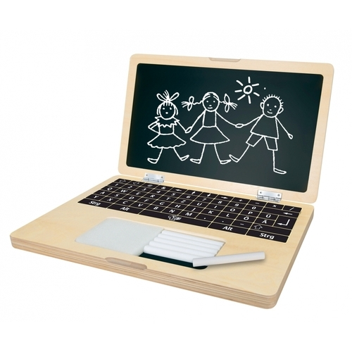 EICHHORN Laptop van hout