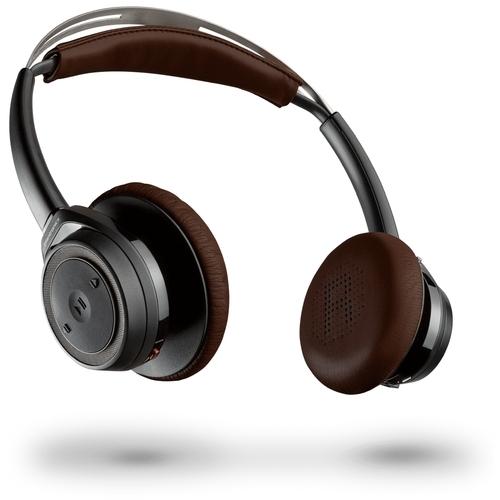Plantronics Backbeat SENSE black-espresso on-ear hoofdtelefoon