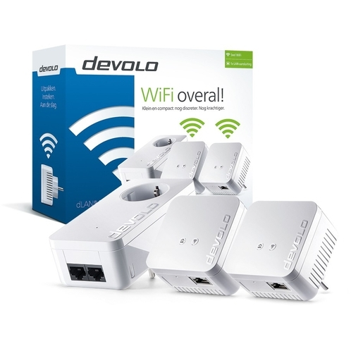 Image of Devolo 550 WiFi Network Kit Powerline