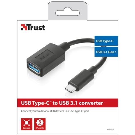 Trust, USB Type-C naar USB 3.0 Converter