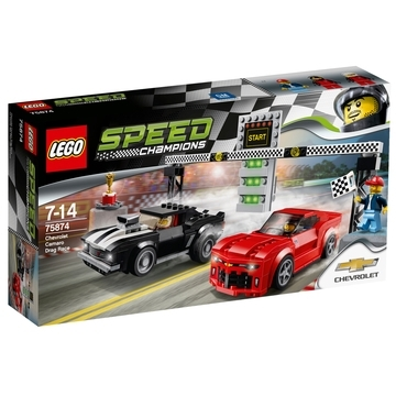 LEGO Speed Champions Chevrolet Camaro Dragrace 75874