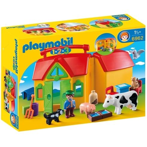 Meeneemboerderij met dieren Playmobil (6962)