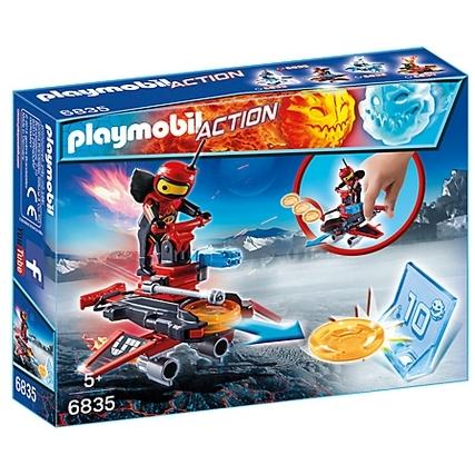 PLAYMOBIL Action Firebot met disc-shooter 6835