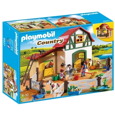 PLAYMOBIL Country ponypark 6927