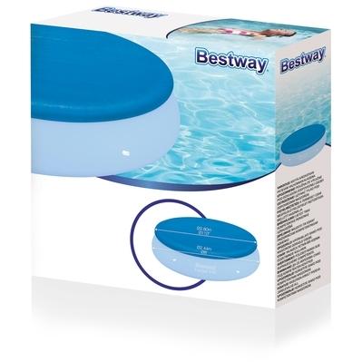 Image of Bestway Fast set zwembad afdekhoes - 244 cm