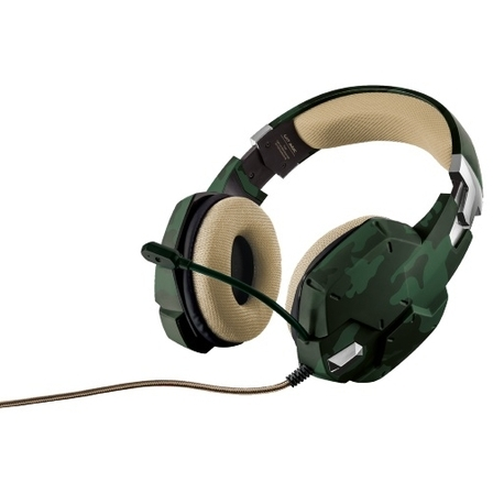 Gaming Headset Green Cam. Gxt-33c