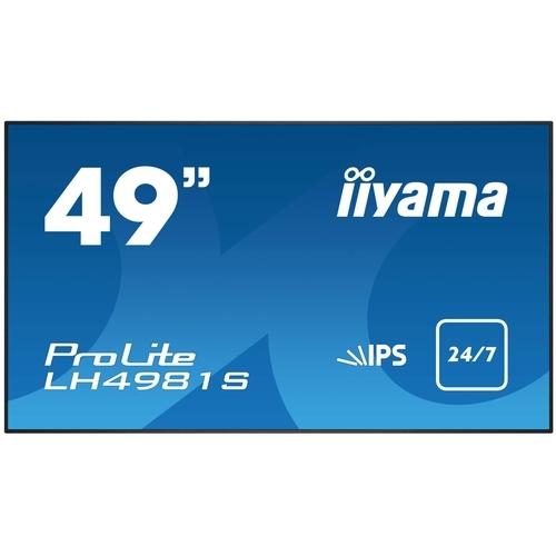 iiyama Dis Public 49 Iiyama PL LH4981S-B1 IPS 8ms,VGA,DVI,HDMI,DP,Speaker (LH4981S-B1)