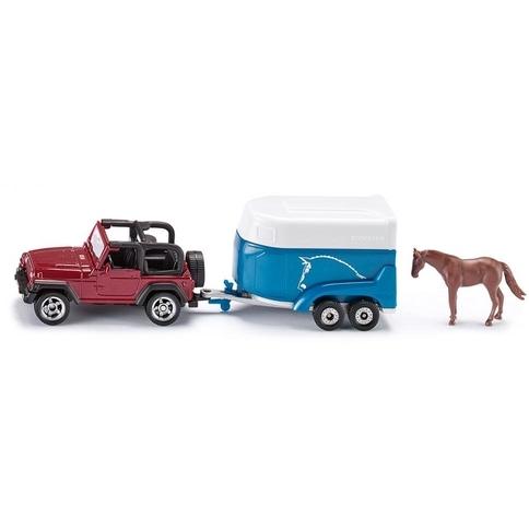 Siku Jeep M. Paardentrail
