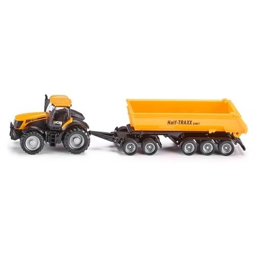 Siku Traktor Met Aanhanger
