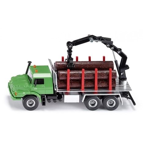 Siku Zetros Houttransport Vrachtwagen - Groen