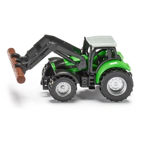 Tractor met Boom Grijper Siku -