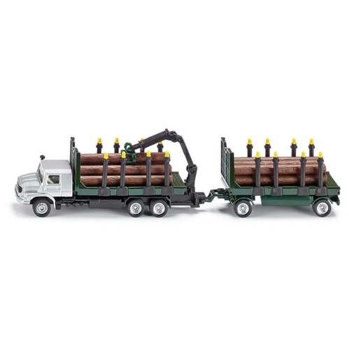 Houttransport vrachtwagen Siku -