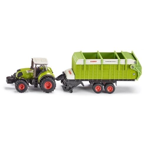 Siku Tractor met Laadwagen