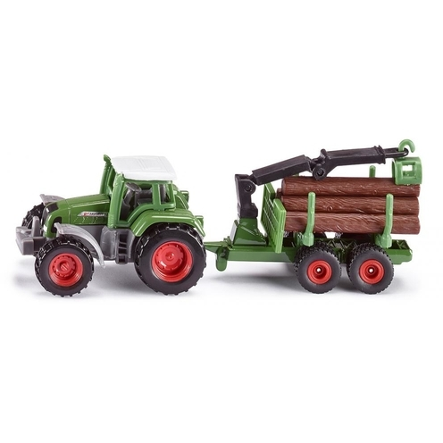 Siku Tractor met Aanhanger