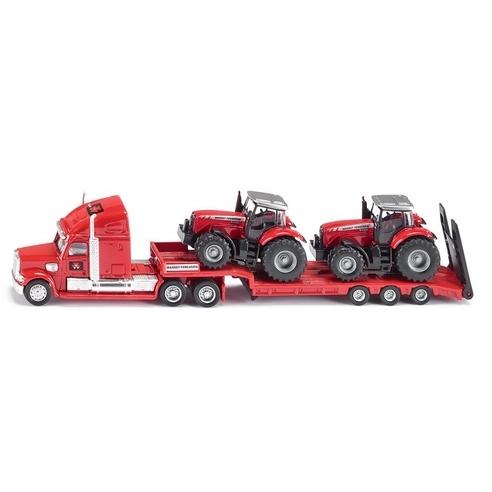 Siku Vrachtwagen met Tractoren
