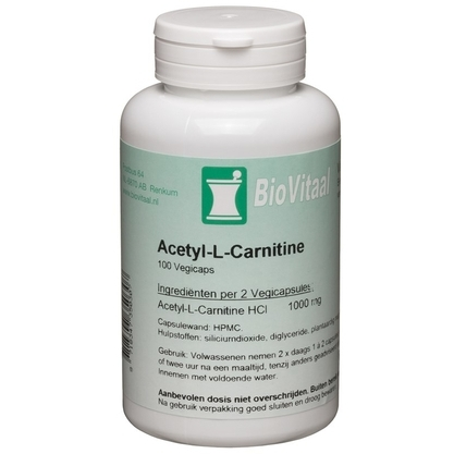 Image of ACETYL L CARNITINE 100CP