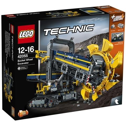 LEGO Technic emmerwielgraafmachine 42055