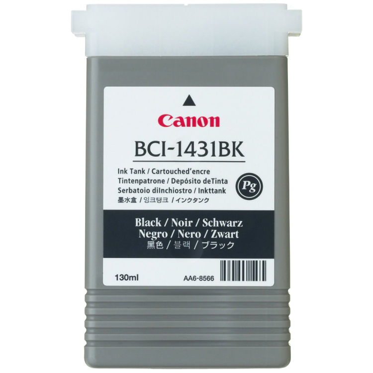 Image of BCI-1431 Inktcartridge Zwart Standard Capacity 130ml 1-pack