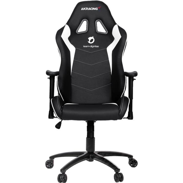 Image of AK Racing Gaming Stoel Team Dignitas Edition Max (zwart-wit)