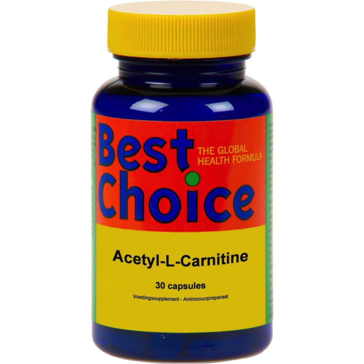 Image of Acetyl-L-Carnitine, 30 Capsules