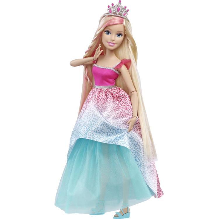 """Image of Barbie Bijzonder Lang Haar 17"""" Prinses Blondine"""