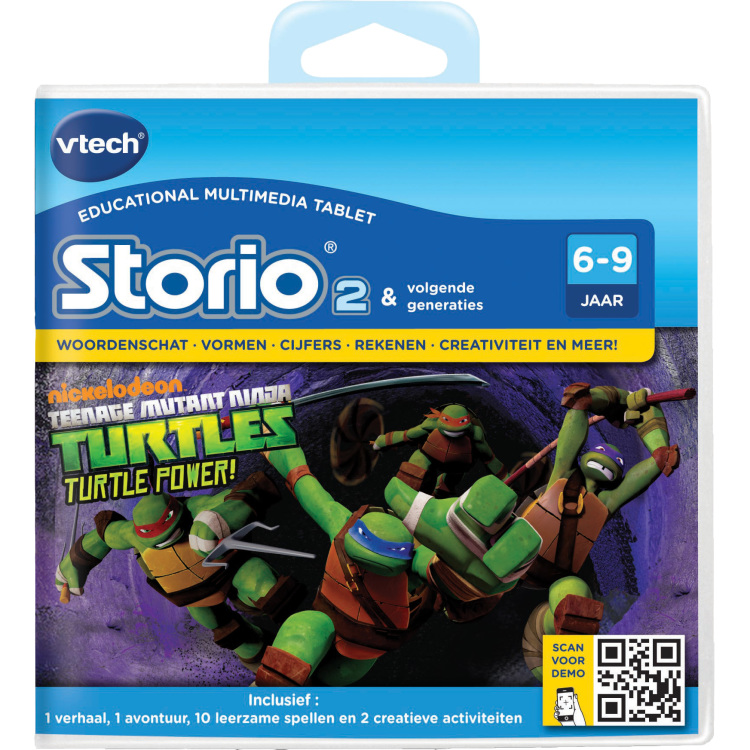 Vtech Storio 2 game Ninja Turtles