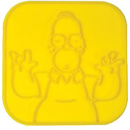 Productafbeelding voor 'The Simpsons: Toast Stamp'