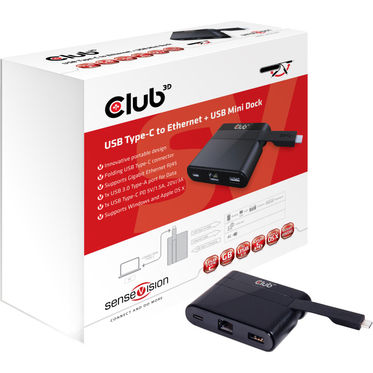 Image of Club 3D CSV-1530 Mini dock