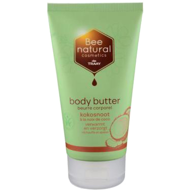 Image of Bee Natural Body Butter Kokosnoot, 150 Ml
