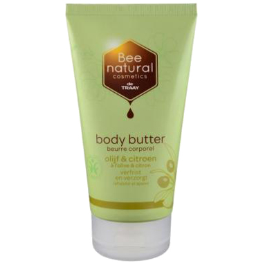 Image of Bee Natural Body Butter Olijf & Citroen, 200 Ml