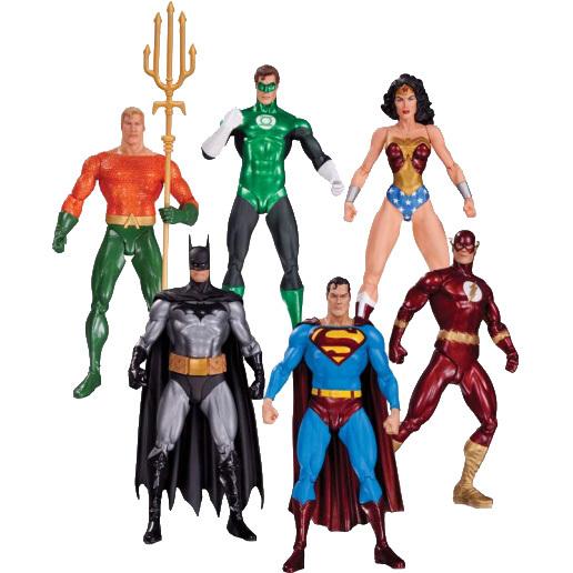 Image of Alex Ross Justice League Action Figure 6