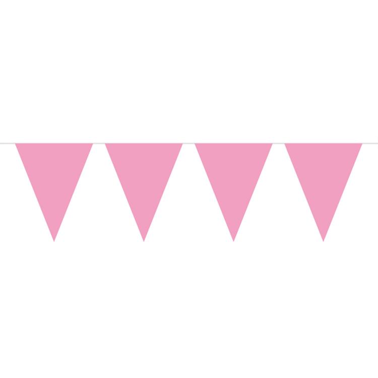 Image of Vlaggenlijn Roze, 10 M